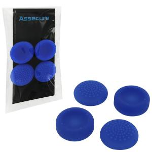 PS4: PS4 Silicone Thumb Grips: Concave & Convex - Blue (Assecure)