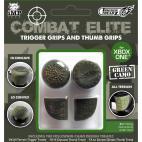Xbox One: Trigger Treadz Combat Elite: 2 Trigger Treadz plus 1 Hi/ 1 Low Thumb Treads (Green Camo)