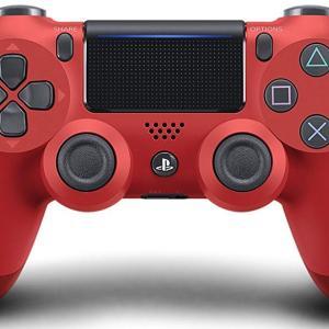 PS4: Sony Dualshock 4 Ohjain (NEW VERSION 2) - Red (EU)