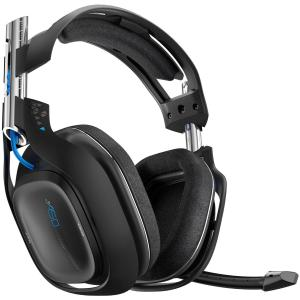 ASTRO Gaming A50 PS4 Wireless Headset 7.1 (Musta) (Käytetty/BOXED/MISSING STAND)