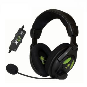 Xbox 360: (F) Turtle beach X12 Xbox 360 Headset (FAULTY/UNBOXED)