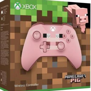 Xbox One: Xbox One Minecraft Pig Ohjain Wireless - With 3.5mm Stereo Headset Jack