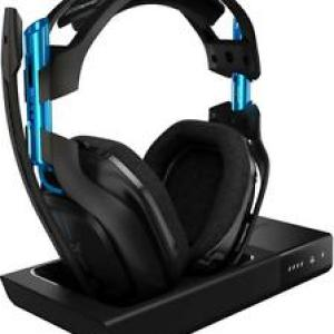 PS4: ASTRO - A50 3rd Generation Gaming Headset 7.1 Black