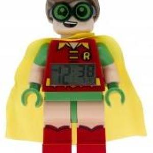 Lego Mini Fig Clock Lego Batman Movie Robins