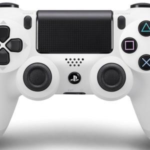PS4: Sony Dualshock 4 Ohjain (NEW VERSION 2) - White (EU)