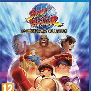 PS4: Street Fighter: 30th Anniversary Collection