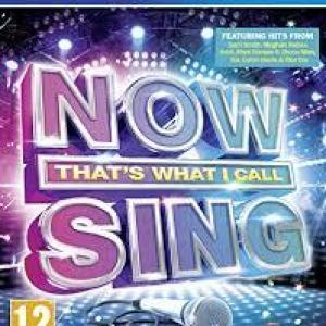 PS4: NOW Thats What I Call Sing
