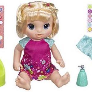 Baby Alive Potty Dance Blonde (Vaurioitut pakkaus)