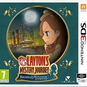 3DS: Laytons Mystery Journey: Katrielle and the Millionaires Conspiracy (German Box)