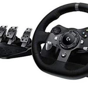 Xbox One: Logitech - G920 Driving Force Racing Wheel