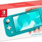 Switch: Nintendo Switch Lite konsoli (Turquoise) (UK)
