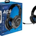PS4: AG6 Wired Stereo Gaming Headset (Musta)