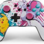 Switch: PowerA Enhanced Wireless Switch Ohjain - Pokemon Battle