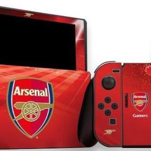 Switch: Official Arsenal FC - Nintendo Switch (konsoli & Ohjain) Skin