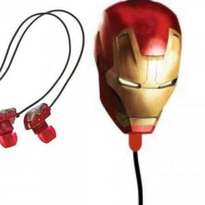 Marvel Iron Man Moulded Earbuds - Headphones /Headphones