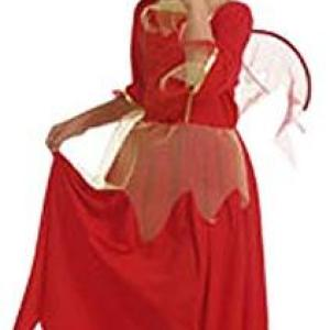 Cesar -  Fancy Dress - Red Devil Dress
