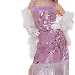 Girls Glamour Marilyn Child - Pink/Purple Costume for 50s Rock N Roll - Fancy Dress /Costume