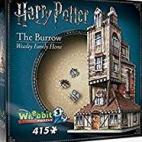 Harry Potter: The Burrow - The Weasleys Family Home (415pc)
