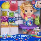 Baby Alive - Happy Hungry Baby Blonde Curly Hair