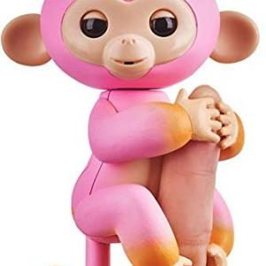 Fingerlings - Baby Monkey Ombre - Pink & Orange Summer /Figuuris