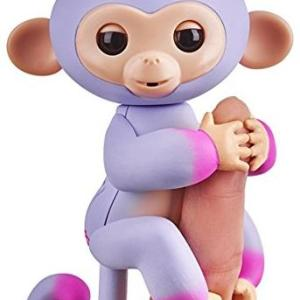 Fingerlings - Baby Monkey Ombre - Purple & Pink Sydney /Figuuris