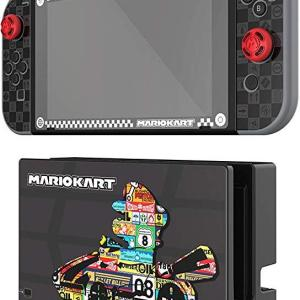 Switch: Mario Kart Play & Protect - Screen Protector & Skin
