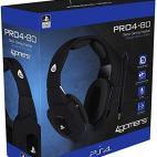 PS4: PRO4-80 Premium Gaming Headset (Musta)