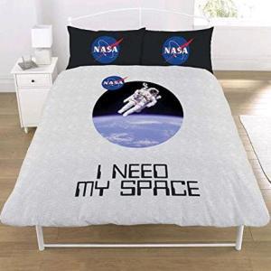 NASA 'I Need My Space' Double Duvet