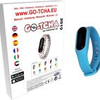 GO-TCHA Coloured Wristband for Pokemon Go (Squirtle Blue) /Accessories