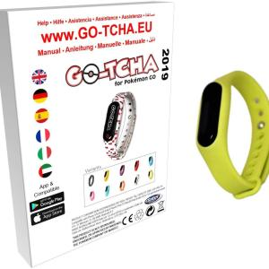GO-TCHA Coloured Wristband for Pokemon Go (Serpifeu Green) /Accessories