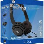 PS4: Official Licensed PRO4-40 Stereo Gaming Headset (BLACK)