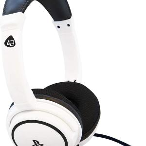 PS4: Official Licensed PRO4-40 Stereo Gaming Headset (Valkoinen)