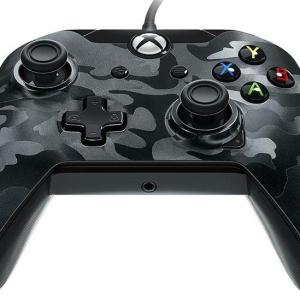 Xbox One: PDP Deluxe Wired Ohjain – Black Camouflage