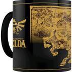 Nintendo mug:New Legend of Zelda Heat Change Map Mug /Merchandise