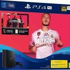 PS4: Playstation 4 PRO konsoli - 1TB (FIFA 20) (UK)