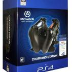 PS4: PowerA PS4 Ohjain Charging Station (Inc. Charging Wire)