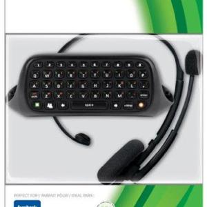 Xbox 360: (F) Xbox 360 Chat Pad & Headset (Faulty/UN-Laatikossa)
