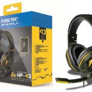 Steelplay - Wired Headset - HP43 (GREEN CAMO) (Multi)