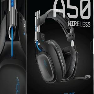 ASTRO Gaming A50 PS4 Wireless Headset 7.1 (Musta)(U/W/B/NO USB/NO STAND)