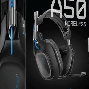 ASTRO Gaming A50 PS4 Wireless Headset 7.1 (Musta)(U/W/B/DP/NO COVER)