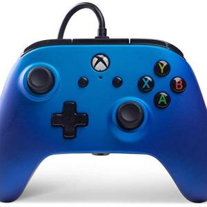 Xbox One: Power A Xbox One  Wired Ohjain Sapphire Fase (Vaurioitut pakkaus)
