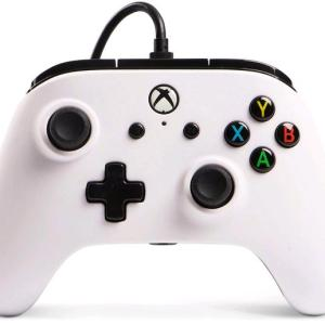 Xbox One: Power A Xbox One  Wired Ohjain White (Vaurioitut pakkaus)