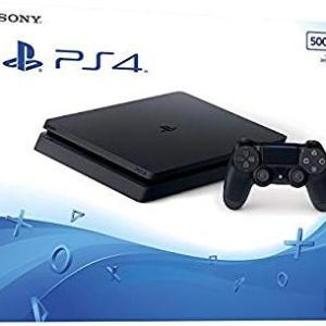 PS4: Playstation 4 konsoli 500GB (UK) (Damaged Packaging/Open)