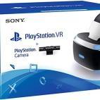PS4: Playstation VR Bundle Starter Kit (PSVR Headset & Camera) (Käytetty/white box)