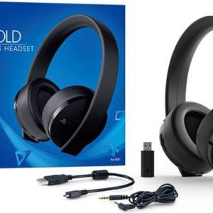 PS4: PS4 Official Sony Wireless Gold Headset 7.1 (Käytetty)