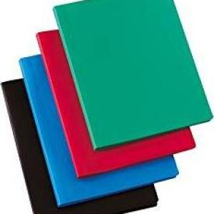5 Etoiles ETL  Document Protector  for 20 Sheets Set of 5 Assorted Colours  /Stationary