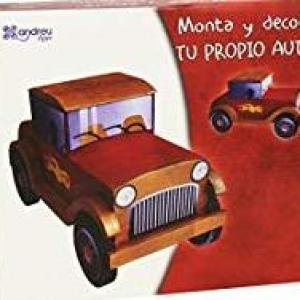 Andreu Toys 25 x 22 x 5 cm Assemble and Paint Your First Car