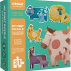 Andreu Toys MD3012 Mideer Mom and Baby Puzzle, 25 x 25 x 5 cm