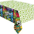 Amscan 9904563 Printed Plastic Tablecover 1 Each The Rise of Teenage Mutant Ninja