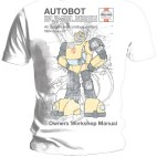 Haynes Manual - Transformers - Bumblebee - T-Shirt (SMALL)